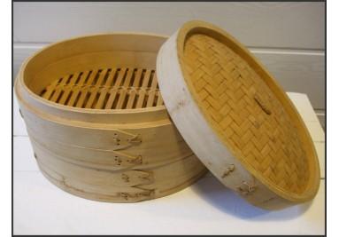 Cuit vapeur en bambou
